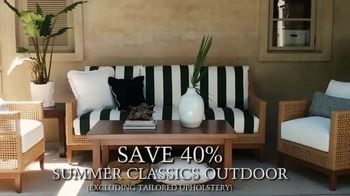 Summer Classics 4th of July Sale TV Spot, '40 Percent Off Indoor and Outdoor'
