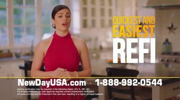 NewDay USA VA Streamline Refi TV Spot, 'Near Rock Bottom Rates: Save $3000' - Thumbnail 8