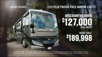 La Mesa RV TV Spot, 'Top Brands: 2020 Fleetwood Pace Arrow LXE'