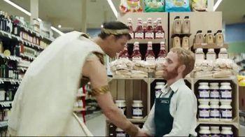 Credit One Bank Platinum Rewards Card TV Spot, 'God of Cash Back: Grocery Store' - Thumbnail 3