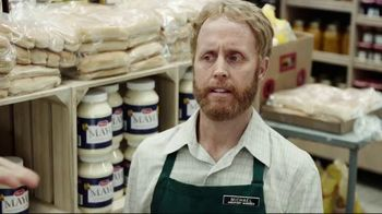 Credit One Bank Platinum Rewards Card TV Spot, 'God of Cash Back: Grocery Store' - Thumbnail 7