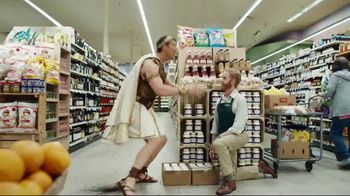 Credit One Bank Platinum Rewards Card TV Spot, 'God of Cash Back: Grocery Store' - Thumbnail 8