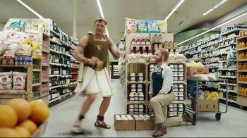 Credit One Bank Platinum Rewards Card TV Spot, 'God of Cash Back: Grocery Store' - Thumbnail 9