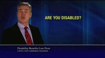 Marc Whitehead & Associates, LLP TV Spot, 'Disability Benefits' - Thumbnail 1