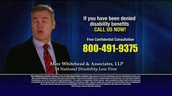 Marc Whitehead & Associates, LLP TV Spot, 'Disability Benefits' - Thumbnail 8