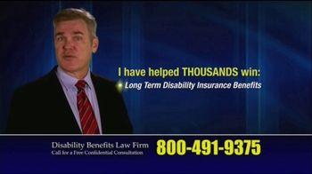 Marc Whitehead & Associates, LLP TV Spot, 'Disability Benefits' - Thumbnail 3