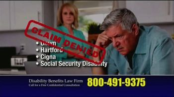 Marc Whitehead & Associates, LLP TV Spot, 'Disability Benefits' - Thumbnail 5