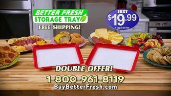 Better Fresh Storage Tray TV Spot, 'Keep Organized'