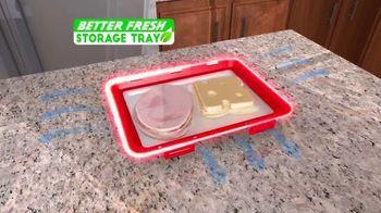 Better Fresh Storage Tray TV Spot, 'Keep Organized' - Thumbnail 5