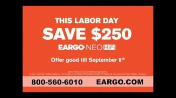 Eargo NEO HiFi TV Spot, 'Labor Day: Overheard Something You Wish You Hadn't' - Thumbnail 9