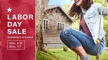 Macy's Labor Day Sale TV Spot, '1,200-Thread Count Sheets, Fall Trends & Women's Shoes' - Thumbnail 1