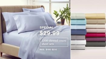 Macy's Labor Day Sale TV Spot, '1,200-Thread Count Sheets, Fall Trends & Women's Shoes' - Thumbnail 2