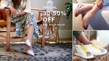 Macy's Labor Day Sale TV Spot, '1,200-Thread Count Sheets, Fall Trends & Women's Shoes' - Thumbnail 5