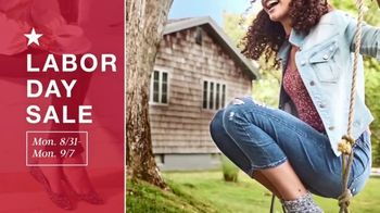Macy's Labor Day Sale TV Spot, 'Jeans, Accessories and School Clothes' - Thumbnail 1
