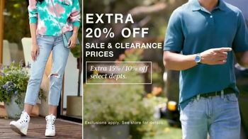 Macy's Labor Day Sale TV Spot, 'Jeans, Accessories and School Clothes' - Thumbnail 2