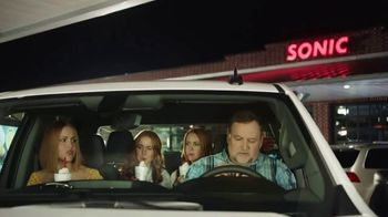 Sonic Drive-In TV Spot, 'Eating in the Car'