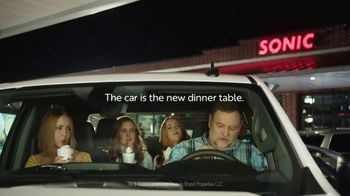 Sonic Drive-In TV Spot, 'Eating in the Car' - Thumbnail 8