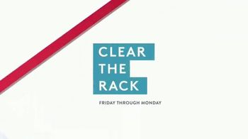Nordstrom Rack Clear the Rack Sale TV Spot, 'Extra 25% Off Clearance' - Thumbnail 9