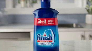 Finish Jet-Dry 3 in 1 TV Spot, 'Wet Dishes' - Thumbnail 10