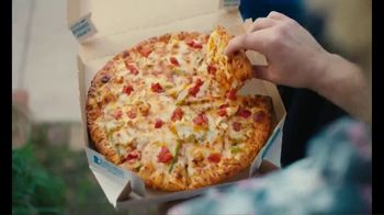 Domino's Cheeseburger and Chicken Taco Pizza TV Spot, 'Designed to Be Delivered'