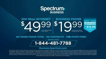 Spectrum Business TV Spot, 'Doesn't Mean Back to Normal: One Free Month' - Thumbnail 10