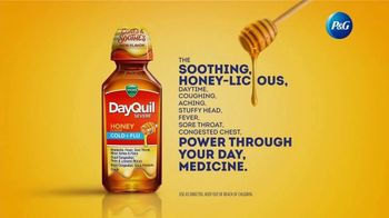 Vicks DayQuil Severe Honey TV Spot, 'Life Doesn't Stop' - Thumbnail 9