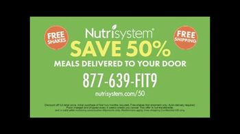Nutrisystem 50/50 Deal TV Spot, 'People Across America: 50% off Meals and a Week of Shakes' - Thumbnail 8