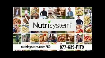 Nutrisystem 50/50 Deal TV Spot, 'People Across America: 50% off Meals and a Week of Shakes'