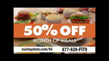 Nutrisystem 50/50 Deal TV Spot, 'People Across America: 50% off Meals and a Week of Shakes' - Thumbnail 6