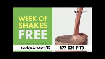 Nutrisystem 50/50 Deal TV Spot, 'People Across America: 50% off Meals and a Week of Shakes' - Thumbnail 7