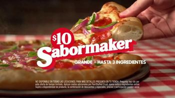 Pizza Hut TV Spot, 'Sabormaker Only $10' [Spanish]