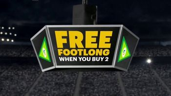 Subway TV Spot, 'Footlong Season: Boom' - Thumbnail 5