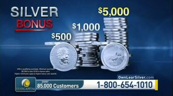 Lear Capital TV Spot, 'Considering Silver: $5,000 in Bonus Silver' - Thumbnail 1