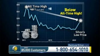 Lear Capital TV Spot, 'Considering Silver: $5,000 in Bonus Silver' - Thumbnail 4