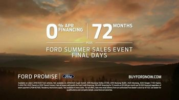 Ford Summer Sales Event TV Spot, 'Ford Promise: Getting Back to It' [T2] - Thumbnail 7