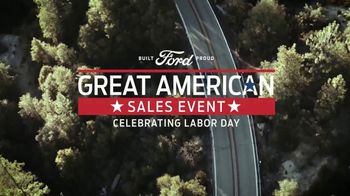 Ford Great American Sales Event TV Spot, 'Celebrate Labor Day' [T2] - Thumbnail 2