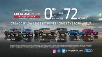 Ford Great American Sales Event TV Spot, 'Celebrate Labor Day' [T2] - Thumbnail 4