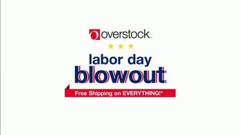 Overstock.com Labor Day Blowout TV Spot, '15% Off' - Thumbnail 2