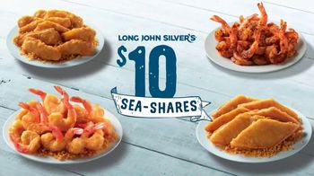 Long John Silver's $10 Sea-Shares TV Spot, 'Get Enough for Your Crew: Grilled Shrimp' - Thumbnail 2