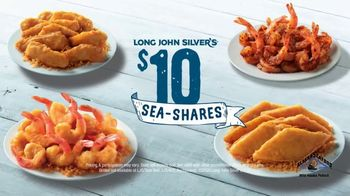 Long John Silver's $10 Sea-Shares TV Spot, 'Get Enough for Your Crew: Grilled Shrimp' - Thumbnail 7
