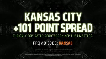 DraftKings Sportsbook TV Spot, 'Kansas City: 101 Point Spread' - Thumbnail 9
