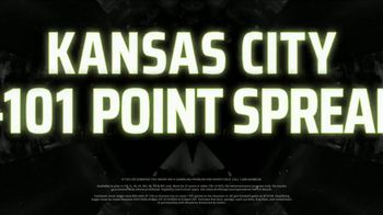 DraftKings Sportsbook TV Spot, 'Kansas City: 101 Point Spread' - Thumbnail 8