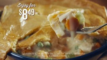 Cracker Barrel Old Country Store and Restaurant Chicken Pot Pie TV Spot, 'Comfort' - Thumbnail 8