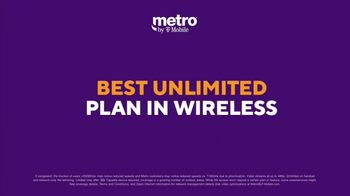 Metro by T-Mobile TV Spot, 'Best Plan: One Line of Unlimited for $40' - Thumbnail 4