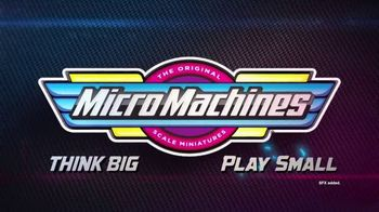 Micro Machines TV Spot, 'The World of Micro Machines' - Thumbnail 1