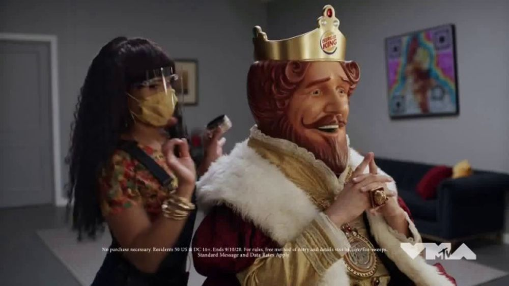 Burger King TV Commercial, '2020 MTV Video Music Awards ...