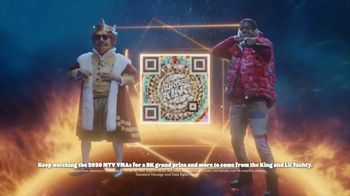 Burger King TV Spot, '2020 MTV Video Music Awards: Put Down Hard' Feat. Lil Yachty, Song by Lil Yachty - Thumbnail 8