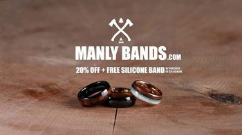 Manly Bands TV Spot, 'Every Detail: 20% Off' - Thumbnail 8