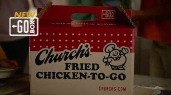 Church's Chicken Restaurants Go Box TV Spot, 'A Lot of Catching Up' - Thumbnail 2