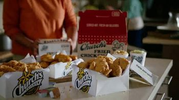 Church's Chicken Restaurants Go Box TV Spot, 'A Lot of Catching Up' - Thumbnail 3